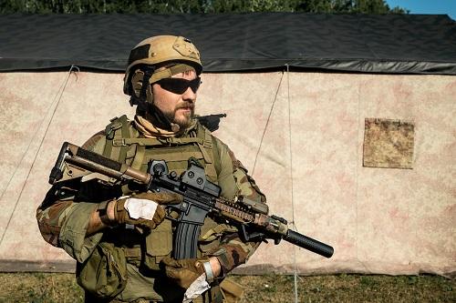 un equipement militaire à la pointe des dernières technologies